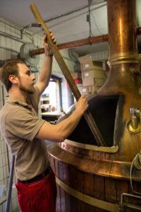 Brauprozess Brauerei Hellers