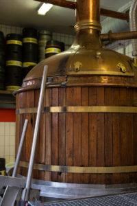 Braukessel Brauerei Hellers
