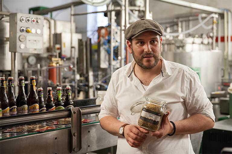 Brauerei Führung Hellers