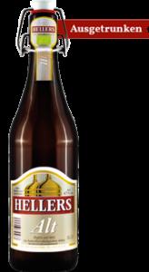 Altbier HELLERS - ausgetrunken