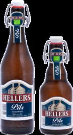 Pils naturtrüb - Hellers